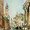 Rio Di San Barnaba - Venice by Mountain Dreams