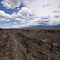 Rio Grande Gorge by Sandy Swanson