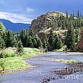 Rio Grande River Landscape by Samantha Glaze