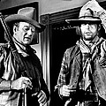Rio Lobo, From Left, John Wayne, George by Everett