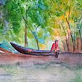 Rio Negro Canoe by Patricia Beebe