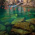 Riomaggiore Bay by Inge Johnsson