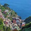 Riomaggiore, Cinque Terre, Italy by Ken Welsh