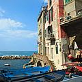 Riomaggiore - Cinque Terre by Matteo Colombo