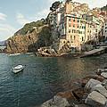 Riomaggiore In The Cinque Terre by Matteo Colombo