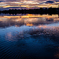 Rippled Sunset by Heather Provan