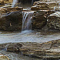 Ripples Of Water Panoramic by Michael Waters