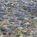Rippling Water Over Rocks by Harold Hopkins