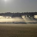 Rising Field Of Fog by Matthew Seufer