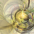 Rising - Abstract Art by Sipo Liimatainen