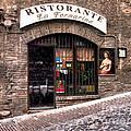 Ristorante La Fornaina. Urbino by Jennie Breeze