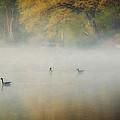 River At Sunrise by Everet Regal