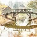 River Bridge Landscape by Yury Malkov