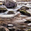River Flowing Over Rocks by Simon Bratt Photography LRPS