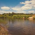 River Flows by Jenny Rainbow