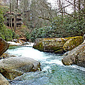 River House In Spring by Duane McCullough