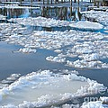 River Ice by Ann Horn