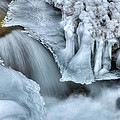 River Ice by Chad Dutson