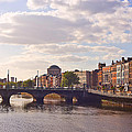 River Liffey 2 - Dublin by Alex Art and Photo