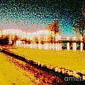River Lights by Lizi Beard-Ward