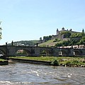 River Main With Fortress - Wuerzburg by Christiane Schulze Art And Photography