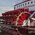River Paddle Steamer by Ohad Shahar