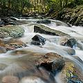 River - Rapids Above Kent Falls by JG Coleman