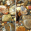 River Rocks 15 In Stereo by Duane McCullough