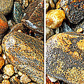 River Rocks 16 In Stereo by Duane McCullough