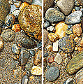 River Rocks 17 In Stereo by Duane McCullough