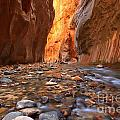 River Rocks In The Narrows by Adam Jewell