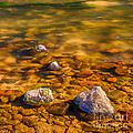 River Rocks by Mike Stephen