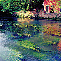 River Sile In Treviso Italy by Heiko Koehrer-Wagner