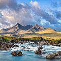 River Sligachan by Michael Blanchette