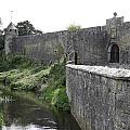 River Suir And Cahir Castle by Christiane Schulze Art And Photography