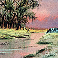 River Sunrise by Bill Holkham