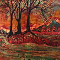 River Sunrise - Lothlorien by Carol Law Conklin
