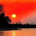 River Sunset by Amanda Stadther