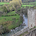 River Teme At Ludlow Castle by Tony Murtagh