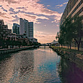 River Through Baltimore by Cathy Anderson