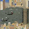 River Tigris In Baghdad by British Library