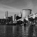 River View Of Cleveland Ohio by Dale Kincaid