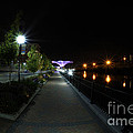 River Walk On The Fox by David Bearden