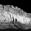 River Wall Bw by Tim Richards