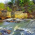 River Wall by Elizabeth Dow