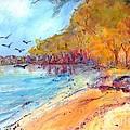 Riverbeach by Ingrid  Becker