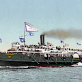 Riverboat, C1900 by Granger