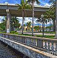 Riverfront Downtown Fort Myers by Timothy Lowry