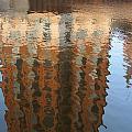 Riverwalk Reflection by Anita Burgermeister