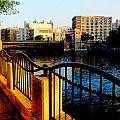 Riverwalk Waves by Anita Burgermeister
